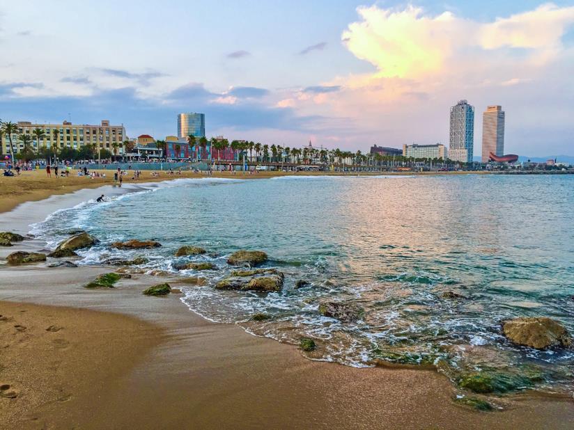 Il mare di Barcelona e la sua splendida spiaggia