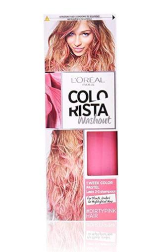 Colorista Washout Pastel Pink