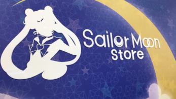 Interno del negozio dedicato a Sailor Moon