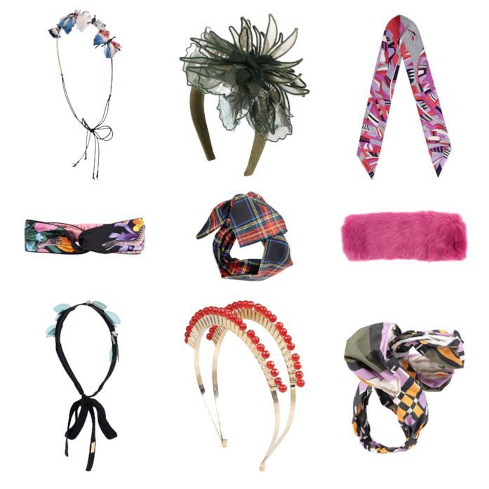 Di moda gli accessori per i capelli in stile vintage per l'autunno 2018