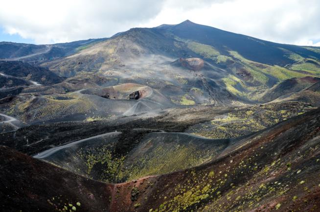 I crateri dell'Etna, Sicilia.