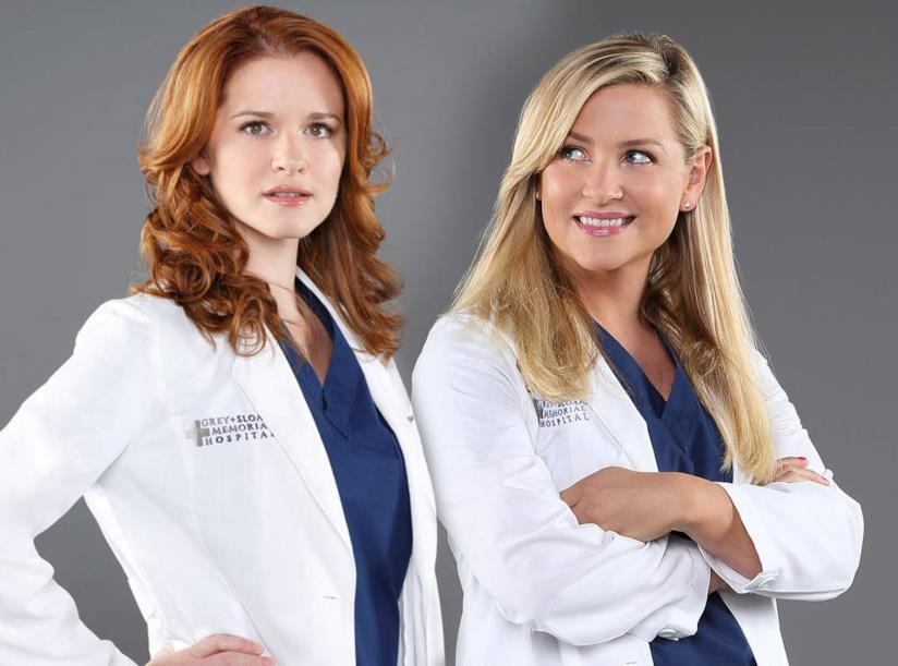Grey's Anatomy: Sarah Drew e Jessica Capshaw lasciano la serie