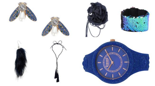 Blu per i bijoux di moda per l'autunno inverno 2018-19