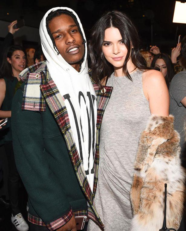 Kendall Jenner con ASAP Rocky