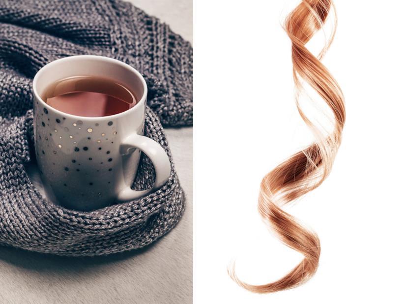 Capelli color tè al latte
