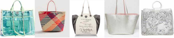 Vari modelli di borse shopper