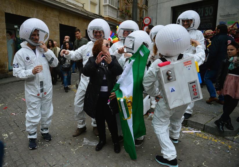Il costume da astronauta