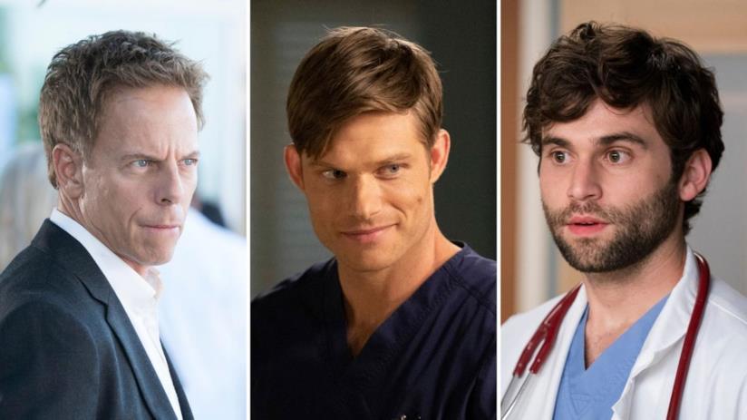 Grey's Anatomy 16: Tom, Link e Levi diventano regular