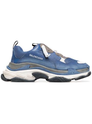 Sneakers Triple S - Blu da uomo