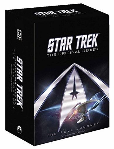 Cofanetto DVD di Star Trek - Stagioni 1-3