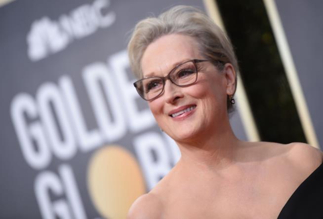 L'attrice alla 75esima edizione dei Golden Globes