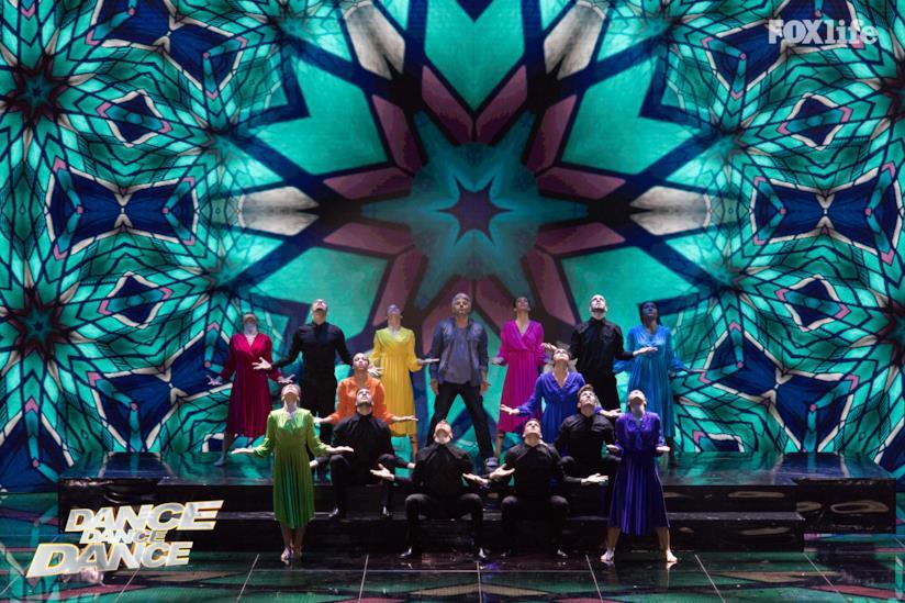 Dino nell'esibizione singola del settimo serale di Dance Dance Dance 2
