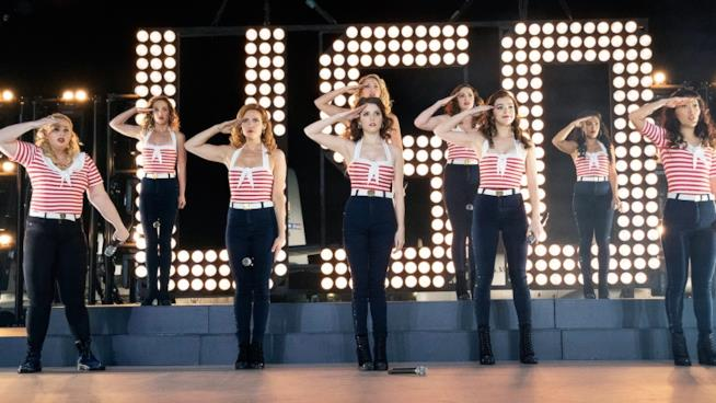Una scena di Pitch Perfect 3