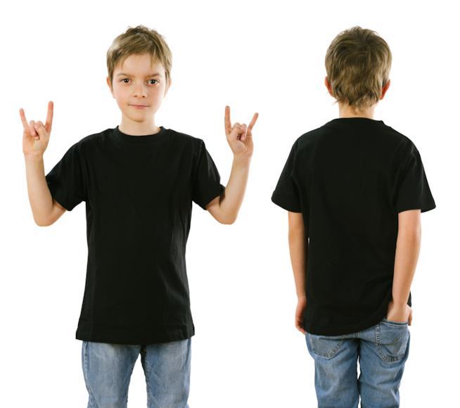 Le migliori magliette nere per bambini online