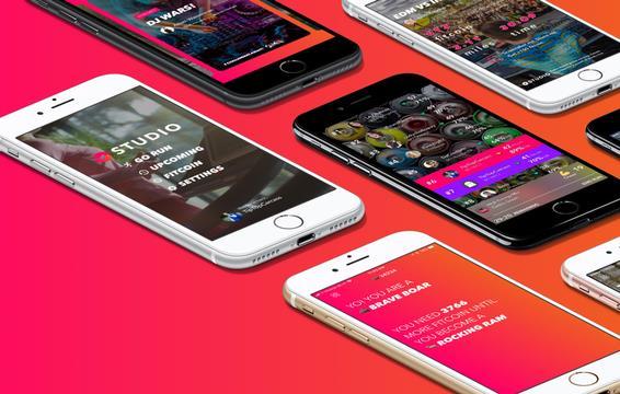 Studio, un'immagine della app per perdere peso