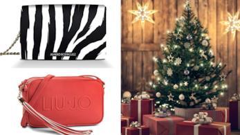 Albero di Natale con due borse