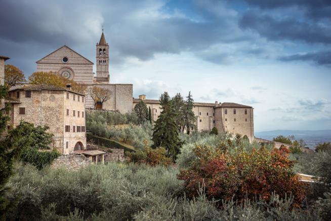 Il cuore medievale di Assisi