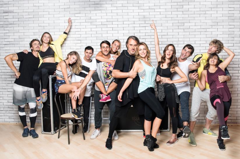 Il cast di Dance Dance Dance