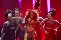 La performance di Eleni Foureira all'Eurovision Song Contest 2018
