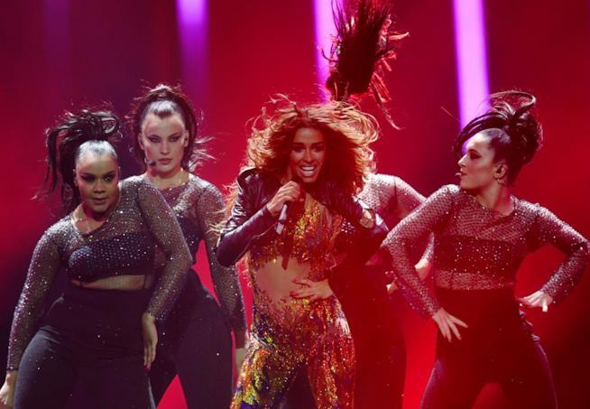La performance di Eleni Foureira all'Eurovision Song Contest 2018