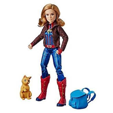 Action figure Capitan Marvel delux