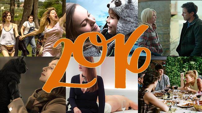 Locandine di alcuni film del 2016 inclusi in questa top ten