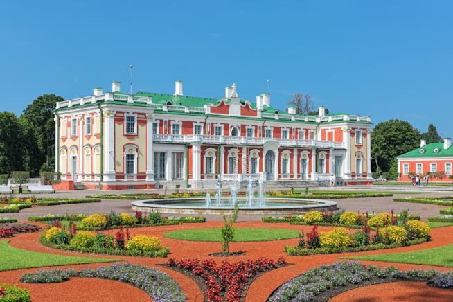 I giardini e le architetture barocche del Palazzo Kadriorg
