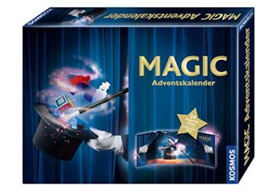 Calendario dell'avvento per piccoli maghi