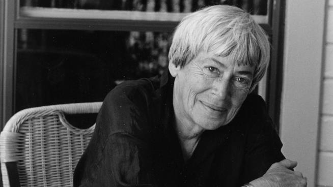 Una foto della scrittrice Ursula K. Le Guin