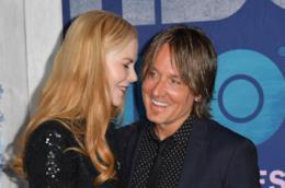 Nicole Kidman e il marito Keith Urba