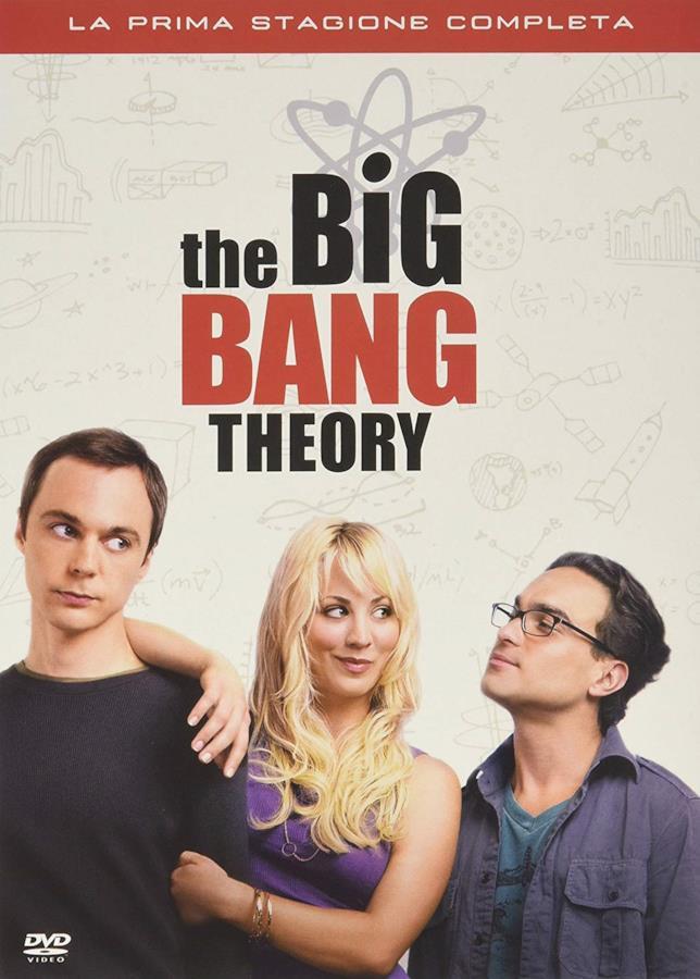 Sheldon, Penny e Leonard in copertina DVD