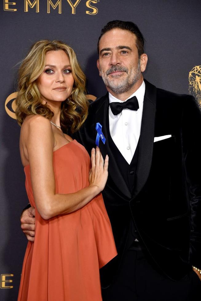 Hilarie Burton con il marito Jeffrey Dean Morgan