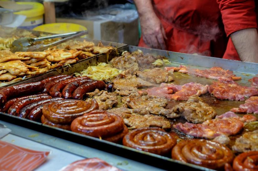 Street food a Bratislava