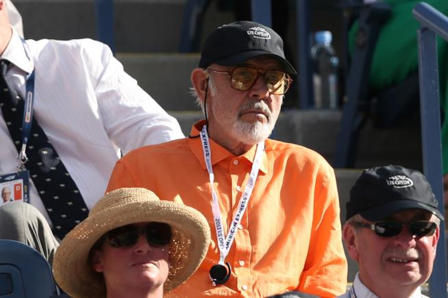 Sean Connery agli US Open 2015