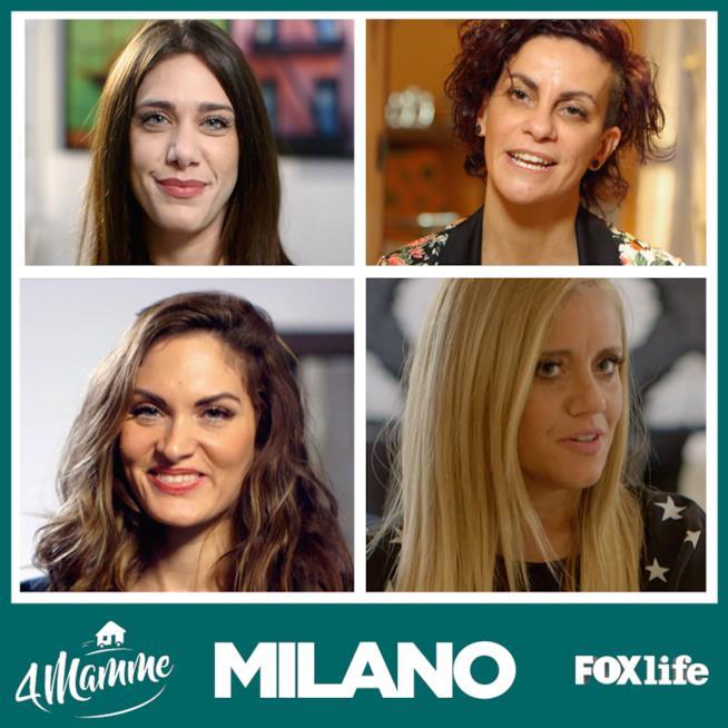 4 Mamme, episodio 2, Milano