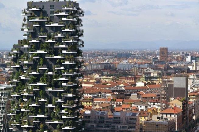 Bosco Verticale, grattacielo dello skyline di Milano