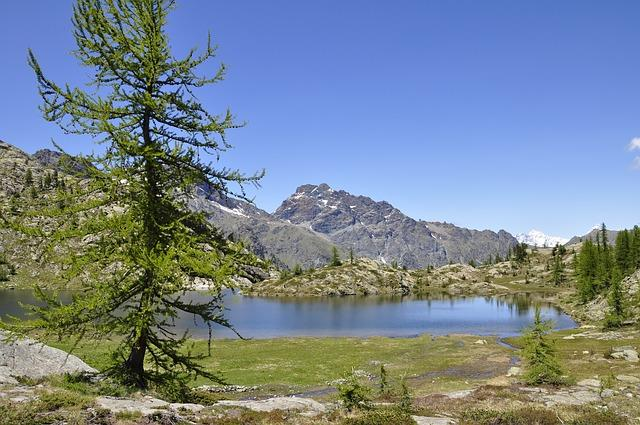 Laghetto montano della Valle D'Aosta