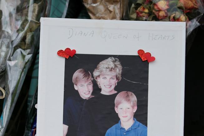 Omaggio per la morte di Lady Diana