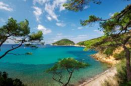 Una spiaggia selvaggio all'Isola d'Elba