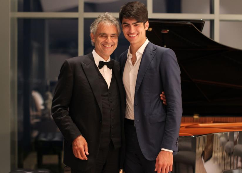 Andrea e Matteo Bocelli