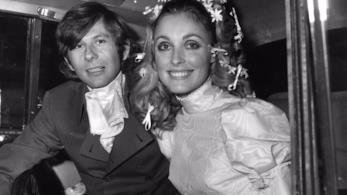 Sharon Tate e Roman Polanski il giorno delle nozze