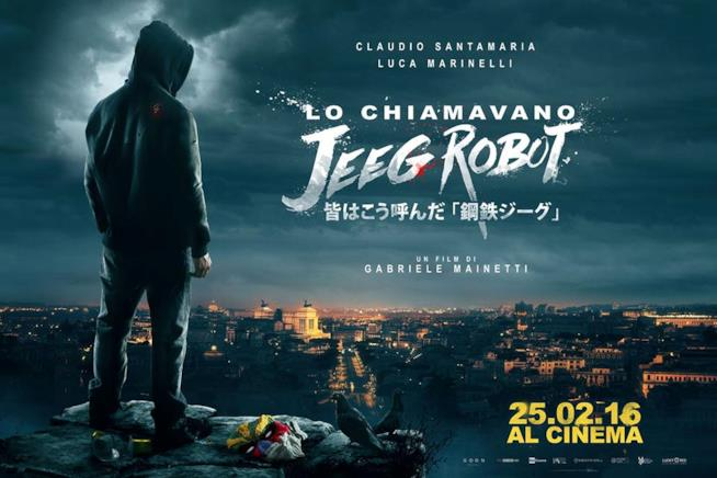 Copertina Lo chiamavano Jeeg Robot.
