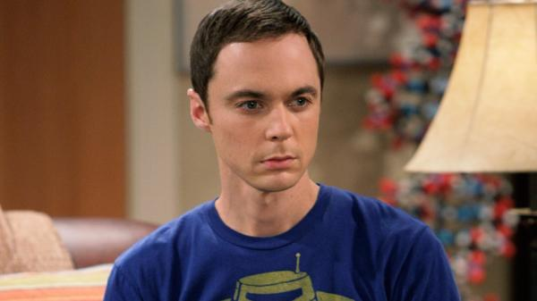 Sheldon in una scena di The Big Bang Theory