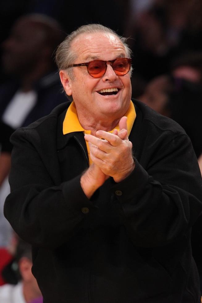 Jack Nicholson in primo piano