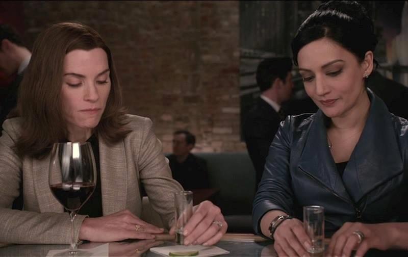 Alicia Florrick e Kalinda Sharma di The Good Wife