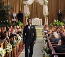 Preston Burke e Cristina Yang nel giorno del matrimonio