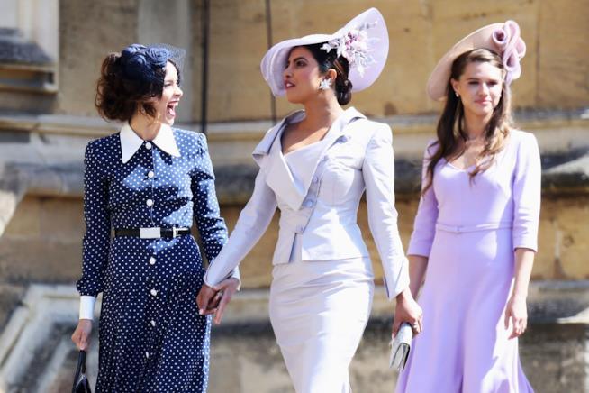 Priyanka Chopra arriva al Royal Wedding