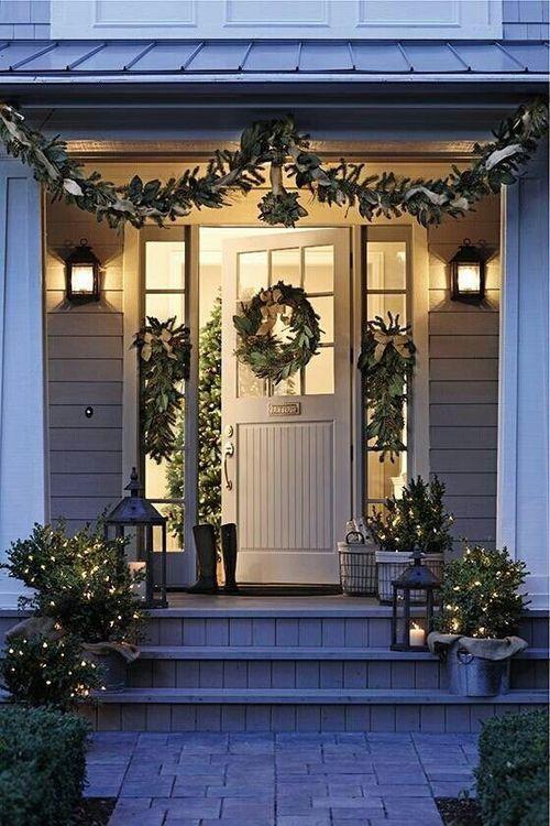 Decorazioni Natalizie Esterno Casa.Come Addobbare Casa A Natale
