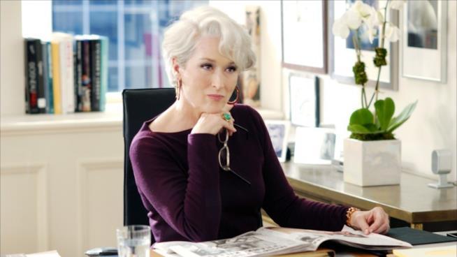 Meryl Streep in Il Diavolo Veste Prada