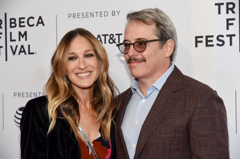 Sarah Jessica Parker e il marito Matthew Broderick